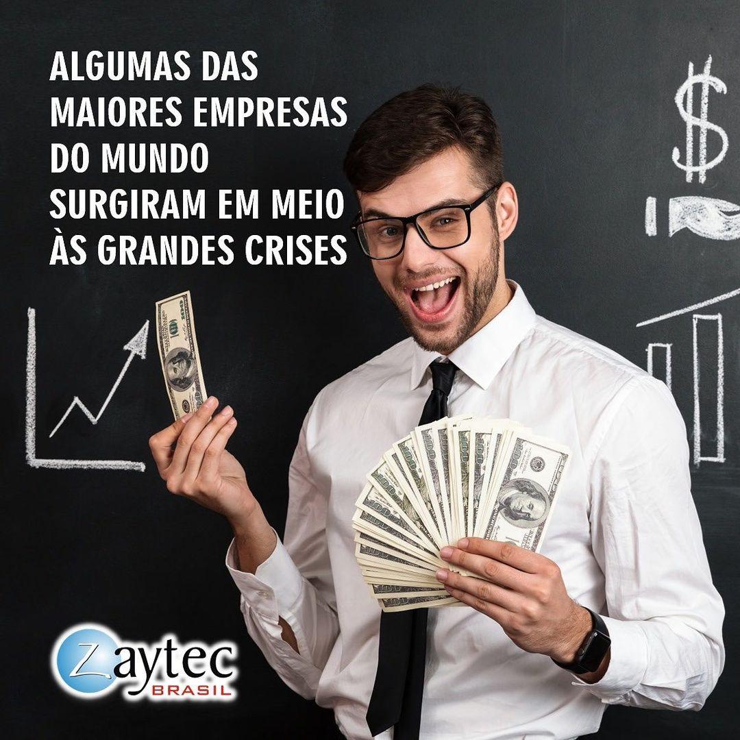 Zaytec Brasil Algumas das maiores empresas do mundo surgiram em meio às grandes crises