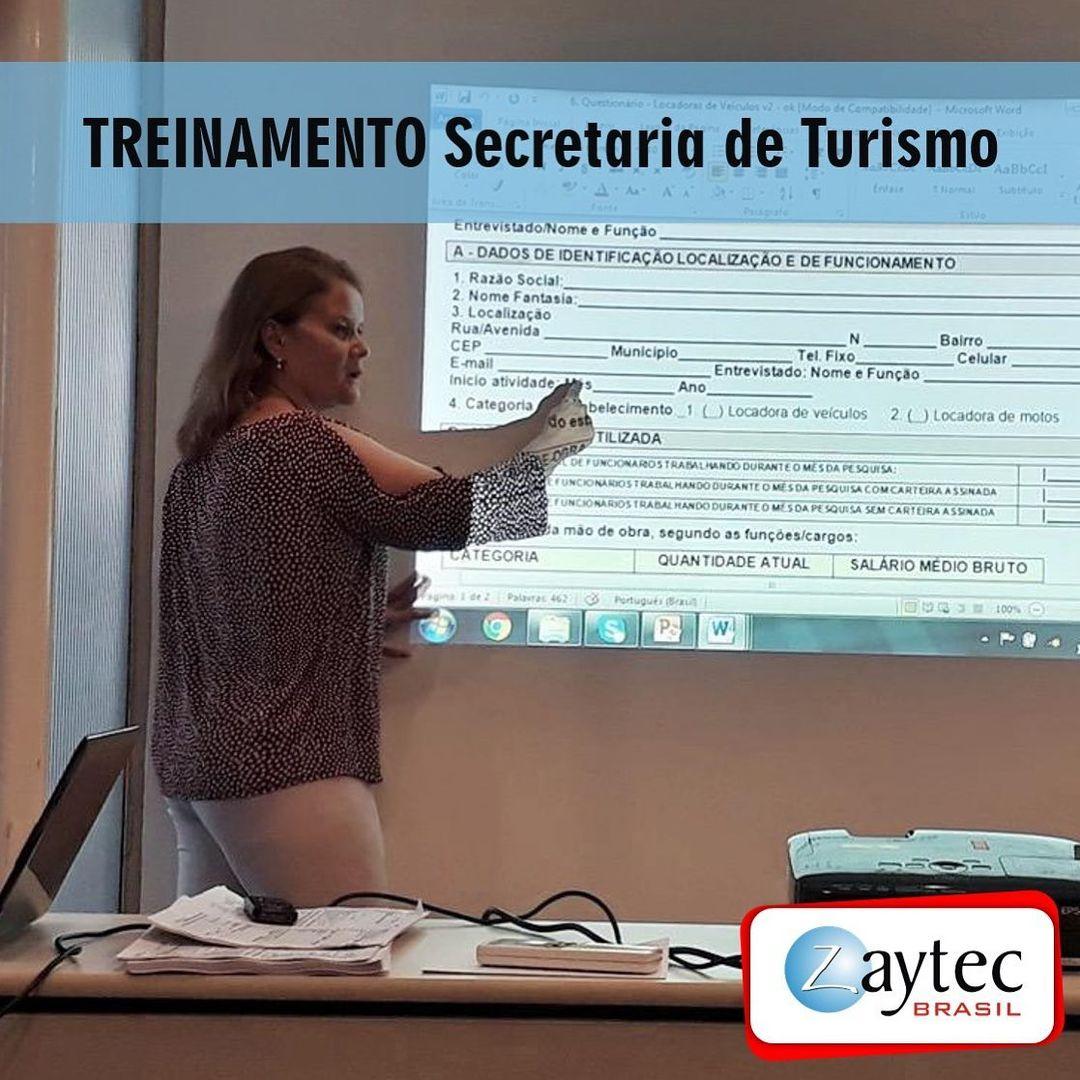 Zaytec Brasil Treinamento Secretaria de Turismo